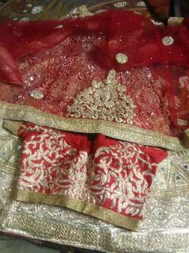 Bridal stiched lehnga complete set