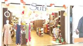 Sales Boy job in ladies clothes shop