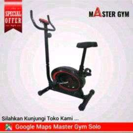 """Alat Fitness SEPEDA STATIS BIKE """"Master Gym"""" Be Fit Be Healthy ID#6105"""