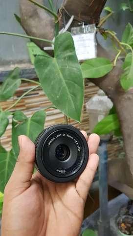 Lensa Canon 40mm F2.8 Stm