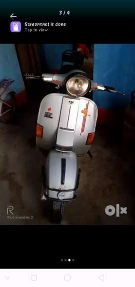 A very good condition scooter working