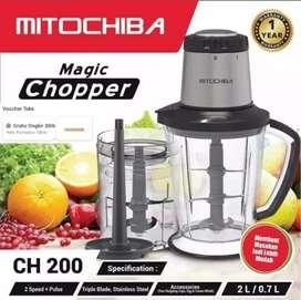 Food Magic Chopper Blender Serbaguna Mitochiba CH-200