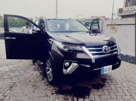 Toyota Fortuner Rent A Car Available without driver