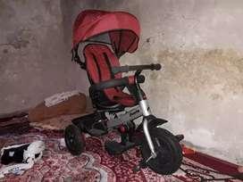 Sepeda stroller family supreme