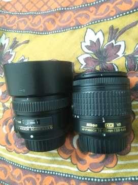 Nikon D3300, Kit lens, with 50mm prime lens