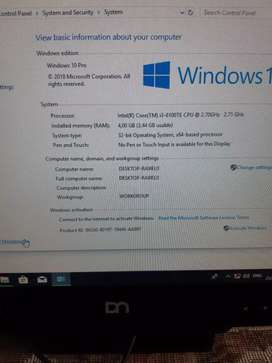 """All in one dn core i3 gen 6 touchscreen 15"""""""