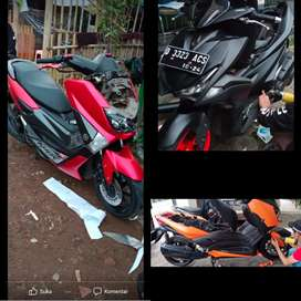 Polet wrapping sticker motor mobil