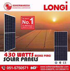 Loot Sale, Longi 445 Watts Mono Perc Solar Panel