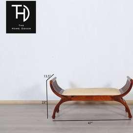 Lotus bench Home Dekor