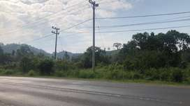 Dijual tanah dipinggir lintas sumatera