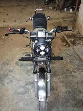 Rx 135 in good condition and modified headlamp