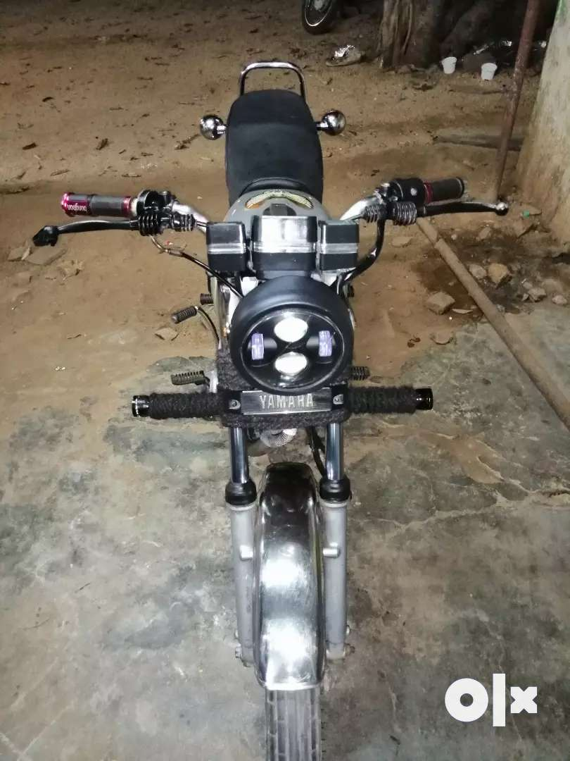 Rx 135 in good condition and modified headlamp 0