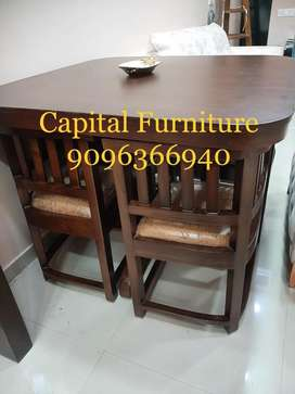 Brand New teak wood 4 chair Dinning table on instalment at very afford