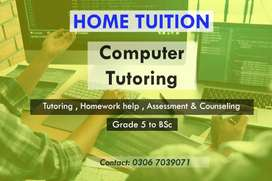 Computer Home Tuition Sargodha