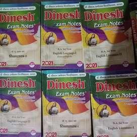 DINESH BA PART 1 NOTES+PAPER