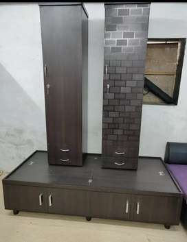 Single wardrobe available in 2 designs