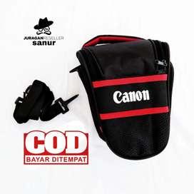 Tas Kamera Segitiga DSLR Canon EOS Premium