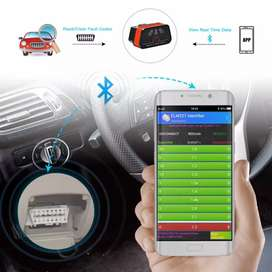 OBD2 Scanner Bluetooth for iOS iPhone and Android, Car OBDI