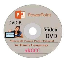 Microsoft Power Point Video Training DVD in Hindi