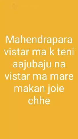 Mahendrapara street no. 1 to 12 ma  mkan joie chhe