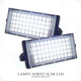 LAMPU SOROT 50 WATT ORIGINAL SLIM LED