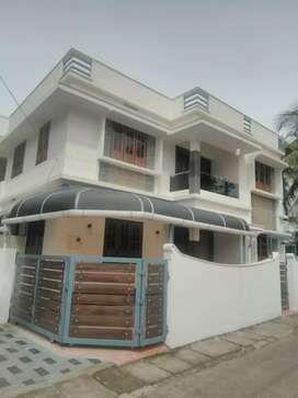 3.bhk 1700 sqft 3 cent new build house at ernakulam near edapally
