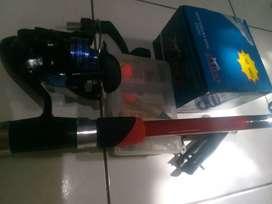 Joran antena Miyabi 210 dan reel daido simura fullset