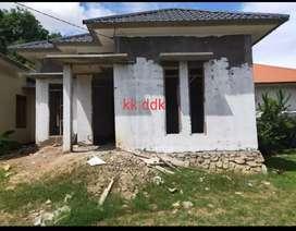 Dijual rumah di pango lokasi dekat aspal
