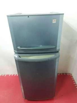 Godrej double door refrigerator with good condition