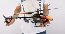 Helikopter Jumbo V913 WLtoys RTF Lengkap Remote vs Drone Mobil RC