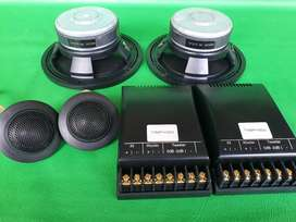 Speaker split 2way JL 5inc  made-in u.s.a (UDIN AUDIO)
