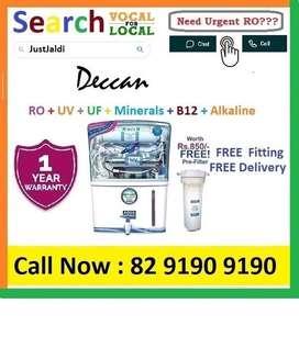 Deccan20.3 AquaGrand RO Water Purifier Water Filter AC dth bed car TV