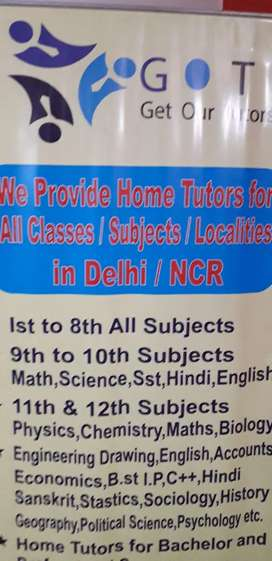 Urgent need  of  home tutors  in  gurugram in all locations