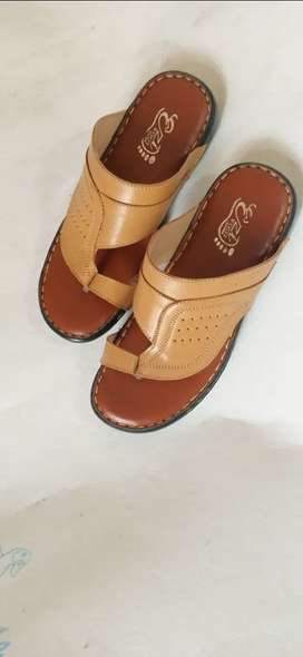 Ezifoot leather softy with  pu sole.
