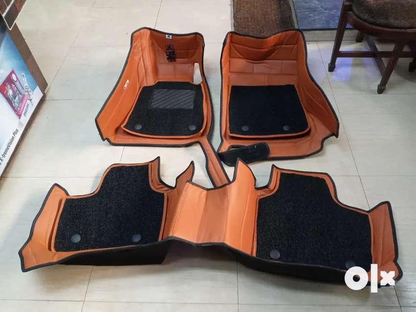 Premium quality 7D car matt customized. Call us for all car accessorie
