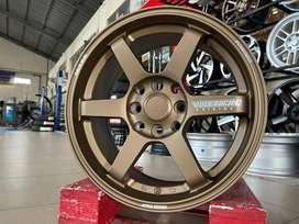 Velg R15x6.5 Et35 TE37 Rays Bronze H8x100-114.3