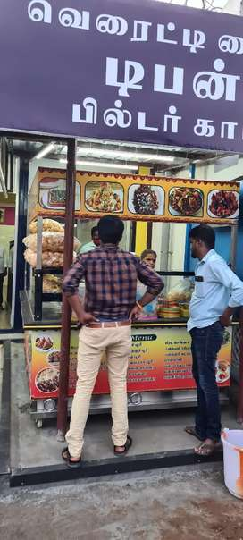 Wanted male and female for chaat shop