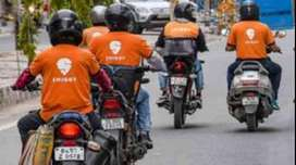 hiring delivery executives  in swiggy and shadowfax