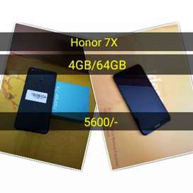 Honor 7X 4GB/64GB , Excellent condition