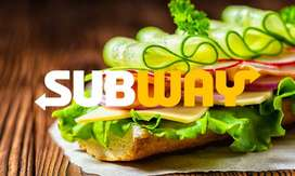 Team Member wanted at Subway Sinhagad road outlet