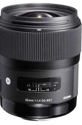 Sigma 35mm 1.4 art lens