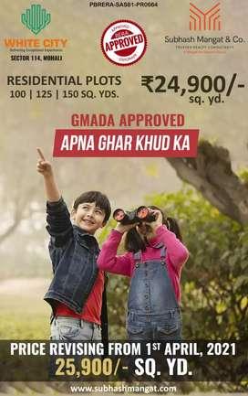 125 sq yd plots in Mohali