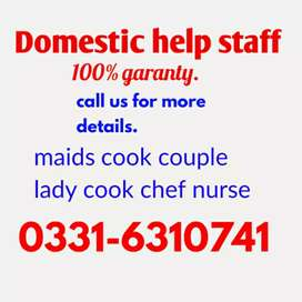 Maids cook couple patient care baby sitter patient care available