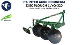 Jual Implement Traktor Disc Plough 1LYQ-320 (Bajak Piringan 3 Disc)