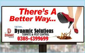 Termite control, Fumigation & Pest management