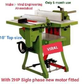 Wood working machine Thicknes & planner combine