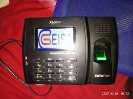Jual murah mesin absensi fingerprint solution x100c