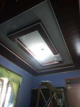 Plafon PVC terpasang termurah