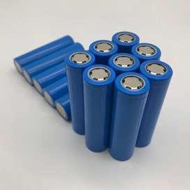 Batrai 18650 biru 2000mah new