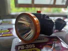 senter kepala headlamp super sepeda hiking baca cas charge 50W 30W